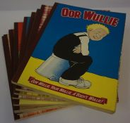 Ten Oor Wullie Annuals, circa 1960s, 70s and 80s, to include 1968, 1969, and 1971 editions, (10)