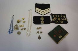 A Mixed Lot of Vintage Boys Brigade Regalia, to include lapel badges, cloth badges, also with a