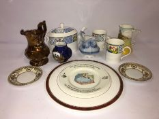 Mixed Lot of Assorted China, to include examples from Royal Doulton, Royal Worcester etc (11)