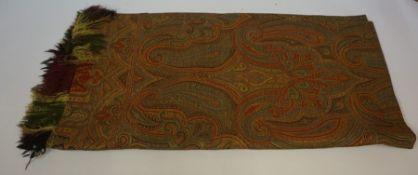 Paisley Pattern Shawl,