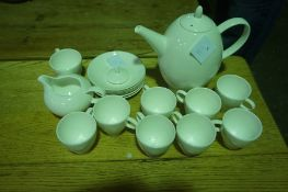 Royal Doulton China Coffee Set, to include coffee pot,