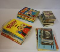 Mixed Lot of Childrens Annuals, circa 1980s-90s, to include The Beano and Dandy, also with some