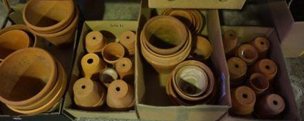 Quantity of Terracotta Plant Pots,