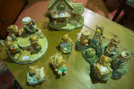 Collection of Pendelfin Figures, (16)