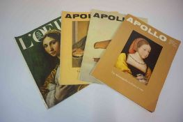 A Mixed Lot of Art Related Magazines, to include various editions of Apollo, circa 1980s, etc,