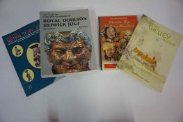 A Quantity of Antique Collectors Reference Books, to include books on Royal Doulton, Carlton Ware,