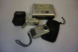 Phillips Digital Camera, with instruction book, also with a Kodak easy share digital camera, 5