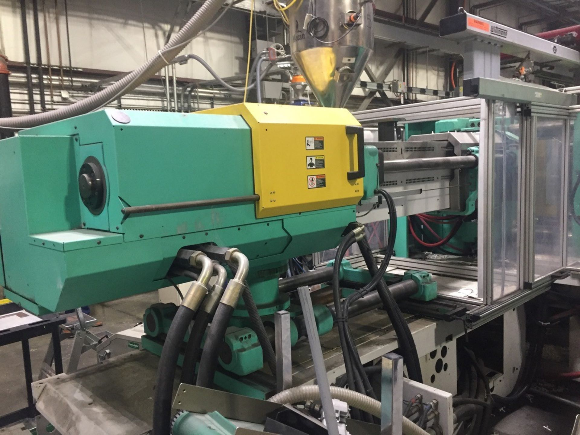Lot 136C - 360 Ton, 34.7 oz./34.7 oz. Arburg 2-Shot Injection Molding Machine (2003)