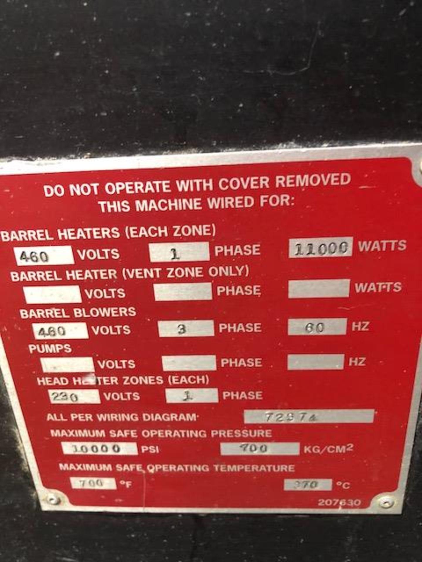 "Lot 105 - Davis Standard 3.5"" 30L/D Extruder"
