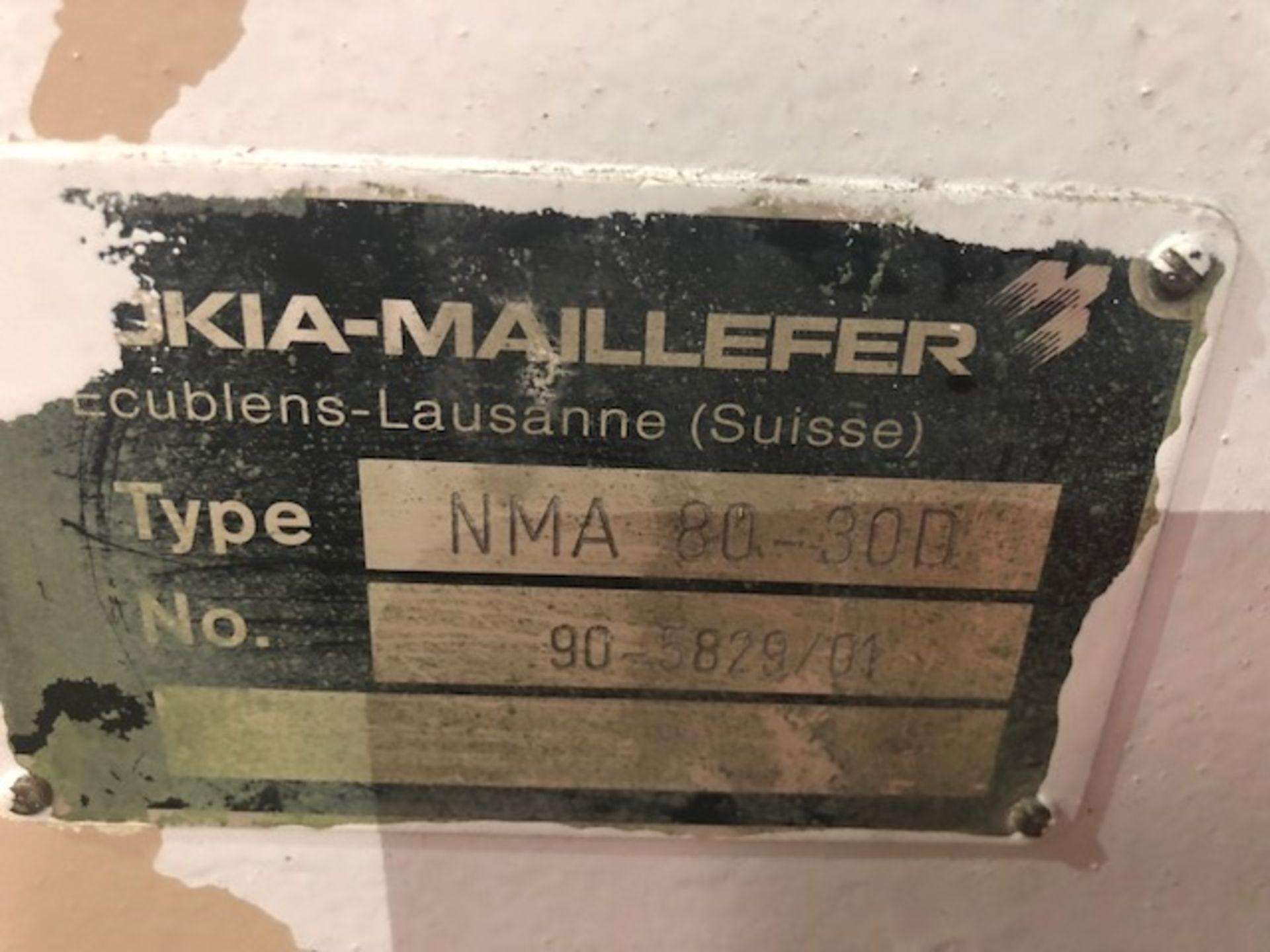 Lot 103 - Nokia Maillefer Extruder 80mm