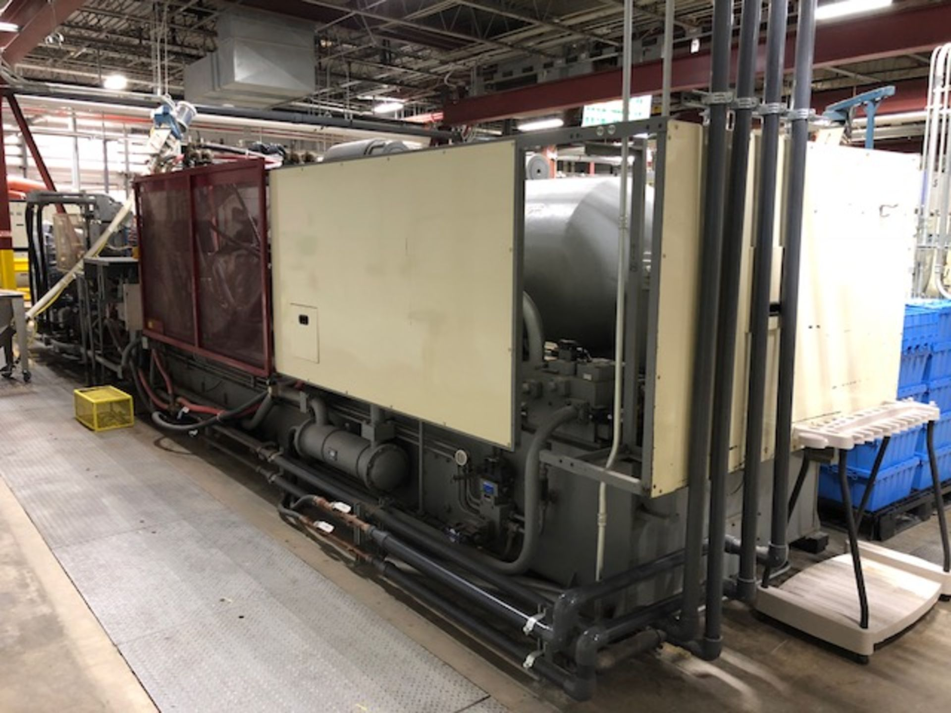 Lot 136B - 720 Ton, 194 oz. LG Injection Molding Machine (2003)