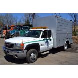 Lot 15 - 2006 GMC Sierra 3500, Diesel Utility Body Truck