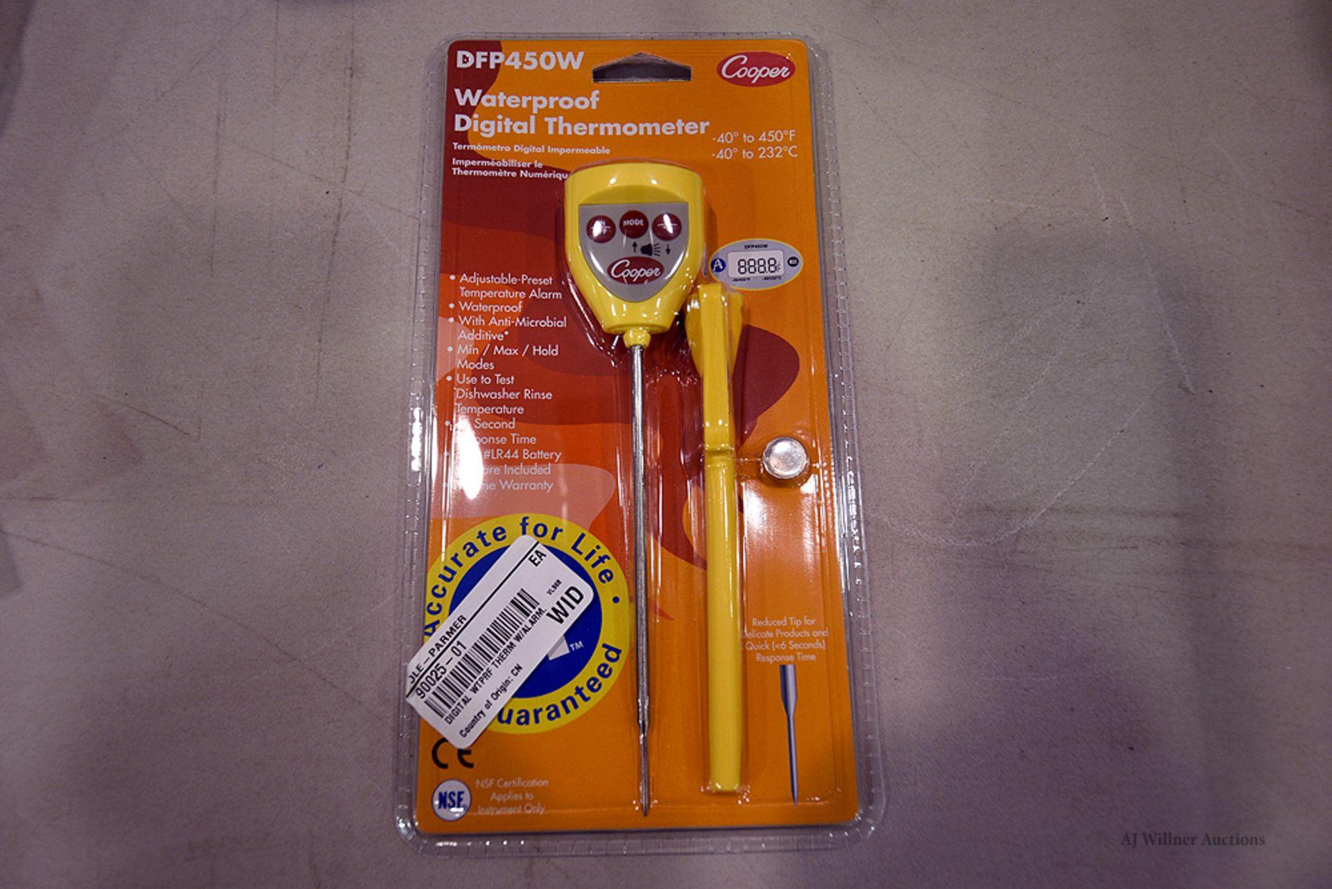 Lot 92 - Cooper, Waterproof Digital Thermometer, Model DFP450W