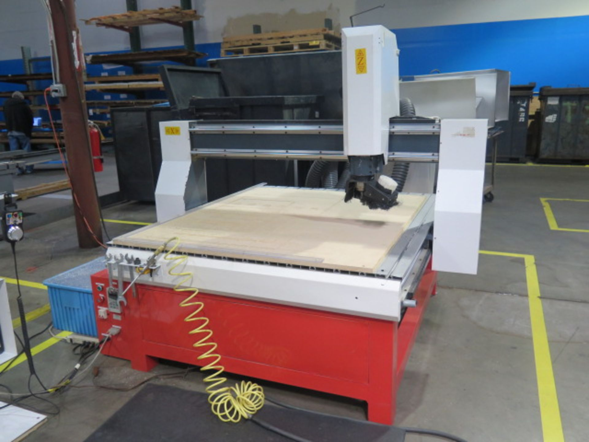 """Industrial CNC """"Mach 3"""" 48"""" x 48"""" Pro Series CNC Router w/ """"Mach 3"""" System Software, 48"""" x 48"""" x 12"""" - Image 2 of 12"""