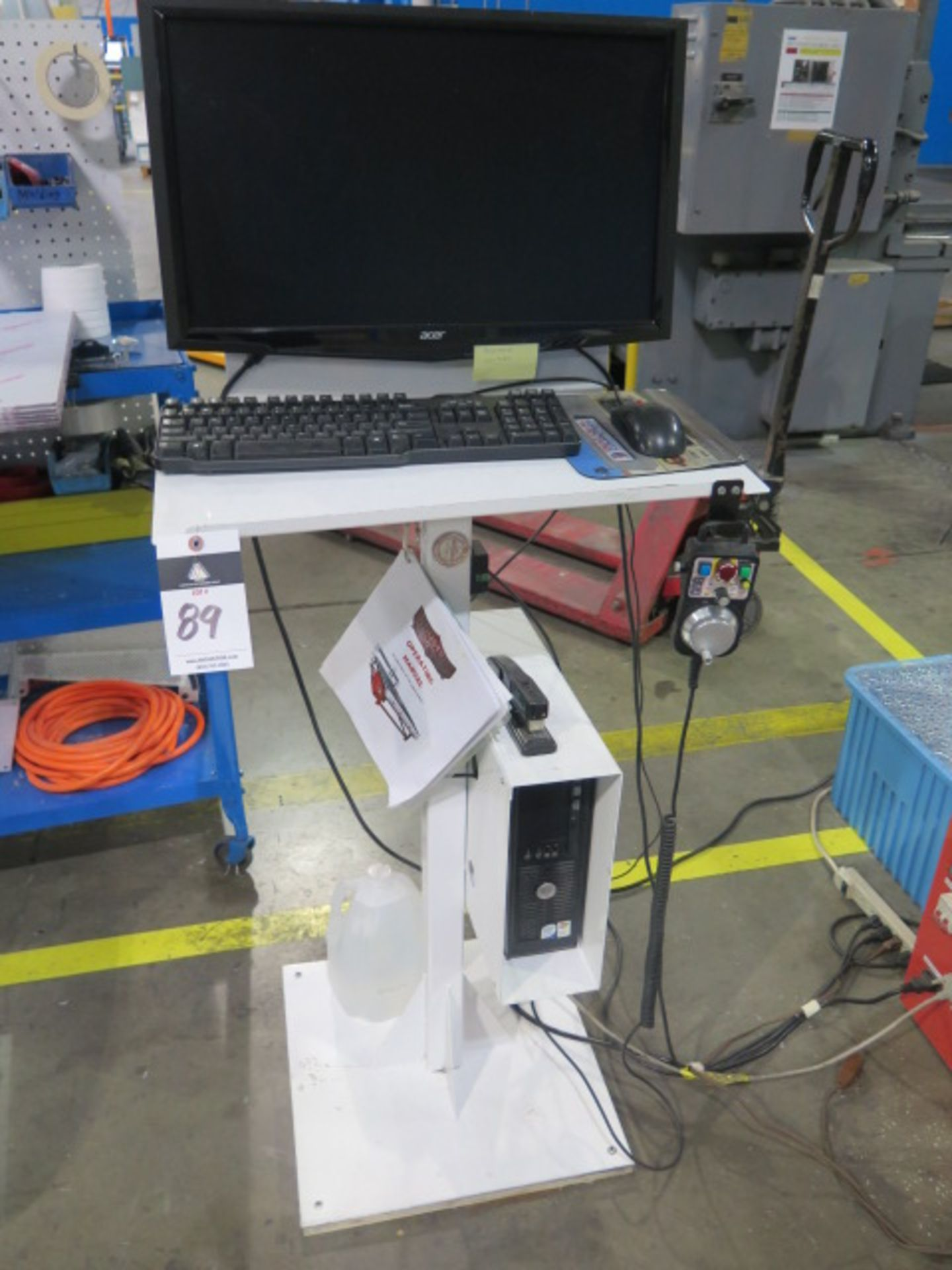 """Industrial CNC """"Mach 3"""" 48"""" x 48"""" Pro Series CNC Router w/ """"Mach 3"""" System Software, 48"""" x 48"""" x 12"""" - Image 9 of 12"""