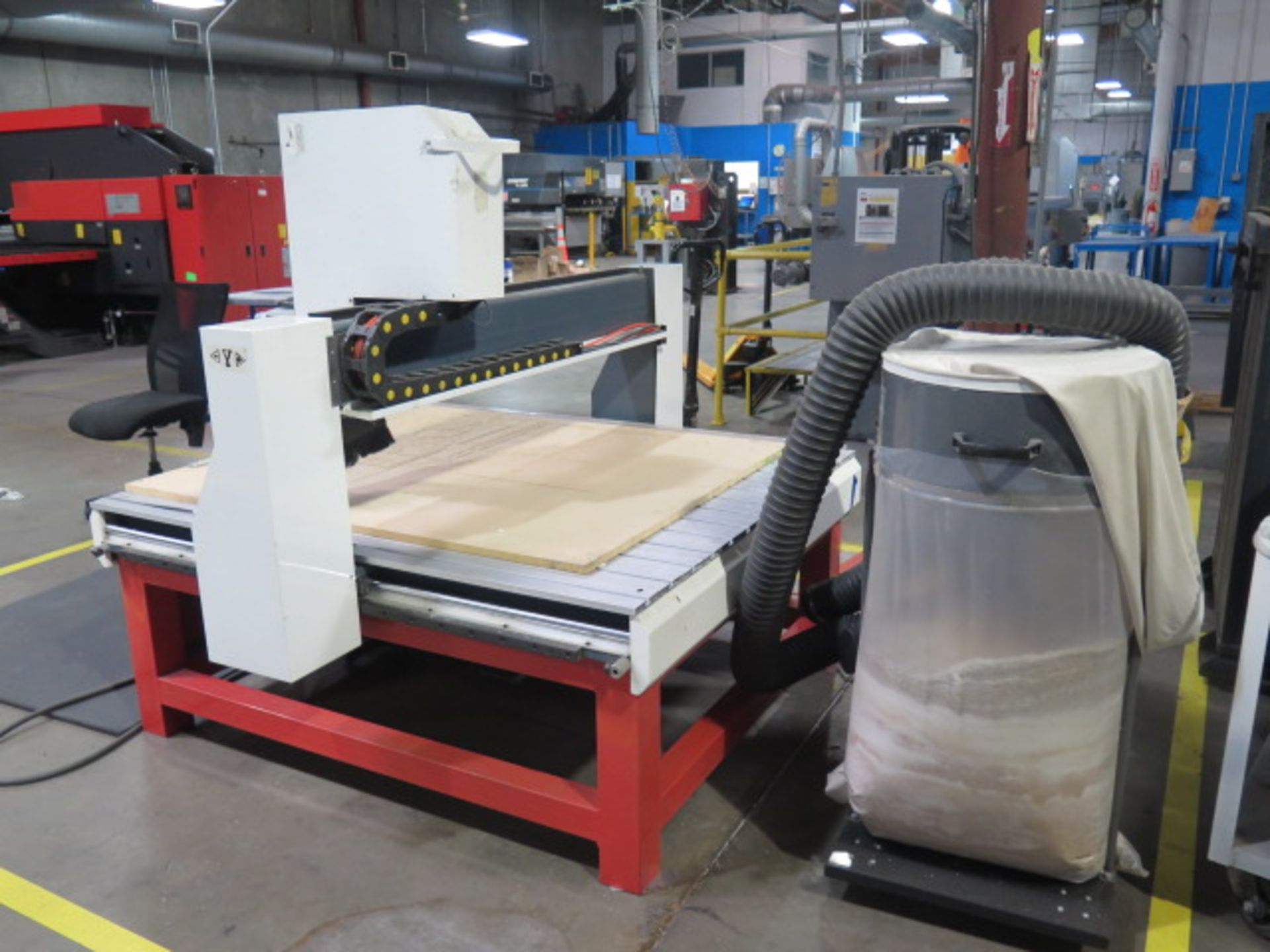 """Industrial CNC """"Mach 3"""" 48"""" x 48"""" Pro Series CNC Router w/ """"Mach 3"""" System Software, 48"""" x 48"""" x 12"""" - Image 5 of 12"""