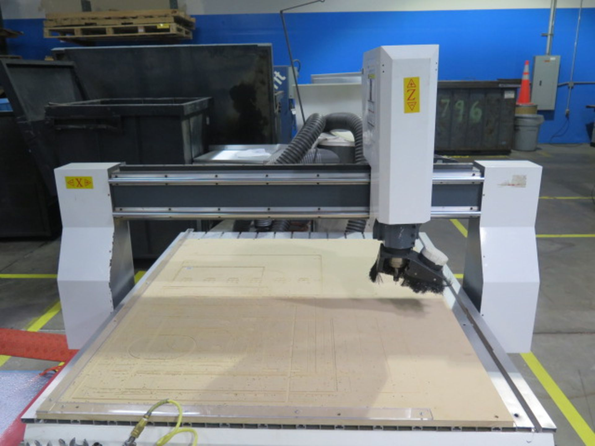 """Industrial CNC """"Mach 3"""" 48"""" x 48"""" Pro Series CNC Router w/ """"Mach 3"""" System Software, 48"""" x 48"""" x 12"""" - Image 3 of 12"""