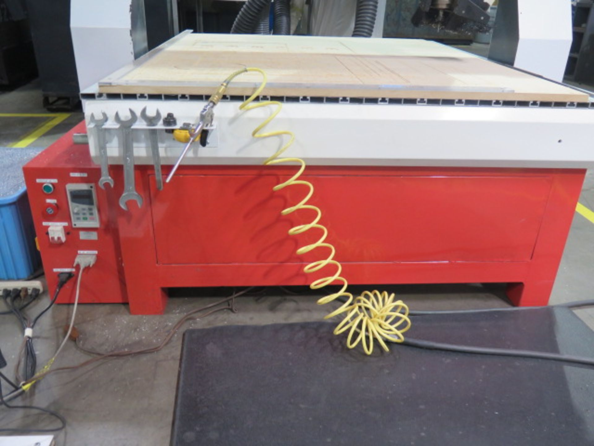 """Industrial CNC """"Mach 3"""" 48"""" x 48"""" Pro Series CNC Router w/ """"Mach 3"""" System Software, 48"""" x 48"""" x 12"""" - Image 4 of 12"""