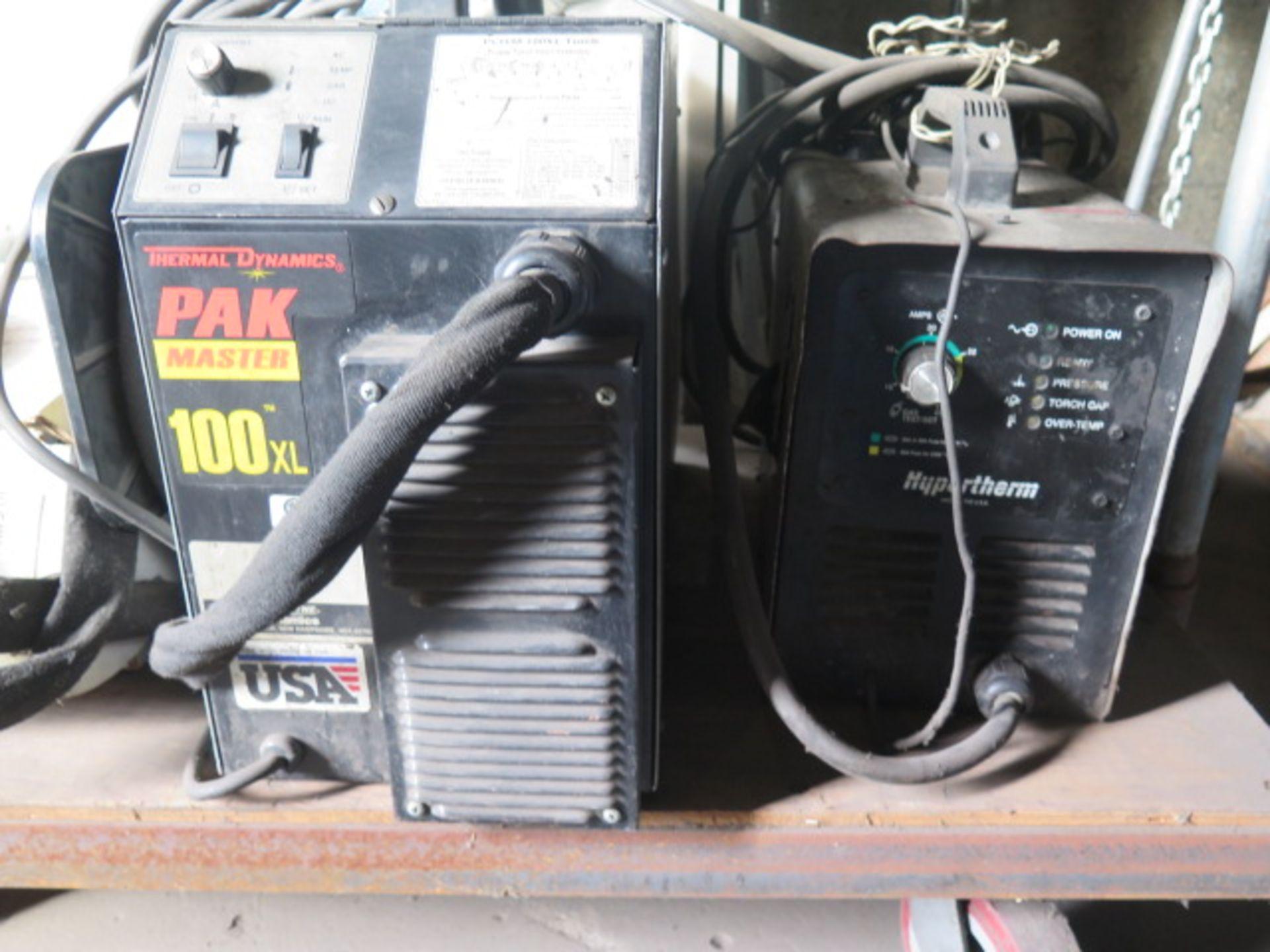 Lot 211 - Thermal Dynamics PAKmaster100XL and Hypertherm Powermax 350 Plasma Cutting Power Sources (2)