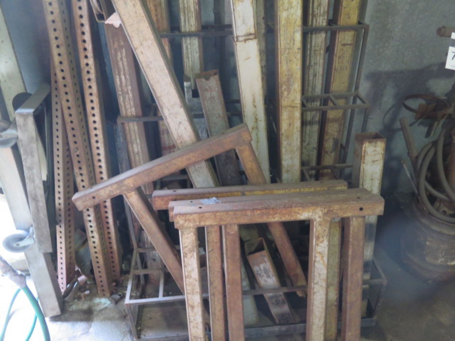 Lot 76 - Vermette Lift Extensions w/ Rack