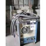 Lot 212 - Miller CP-200 CP-DC Arc Welding Power Source