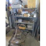 Lot 91 - Misc Scrap Material and Shelf