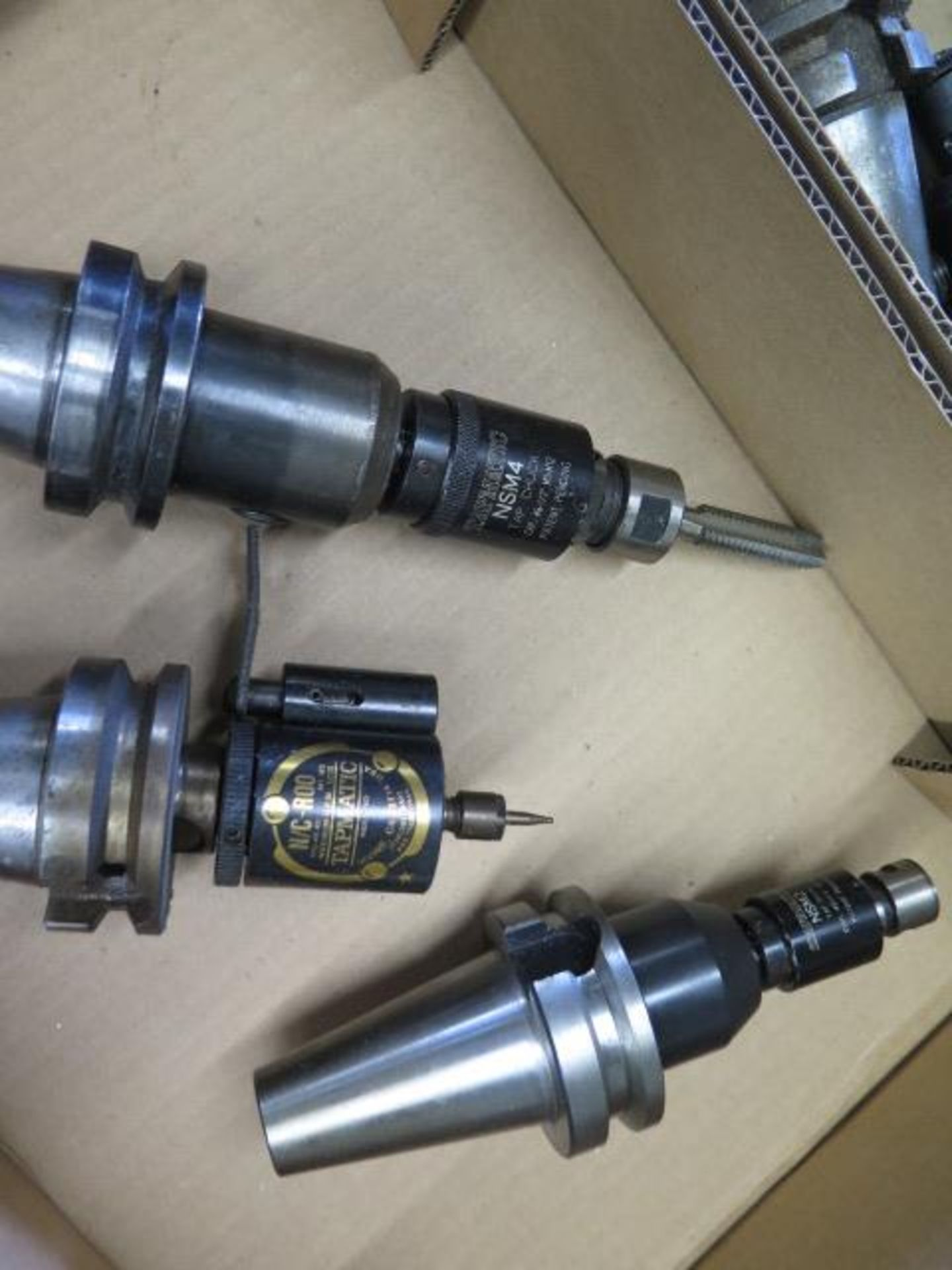Lot 96 - BT-40 Taper Tapmatic Tapping Heads (3)