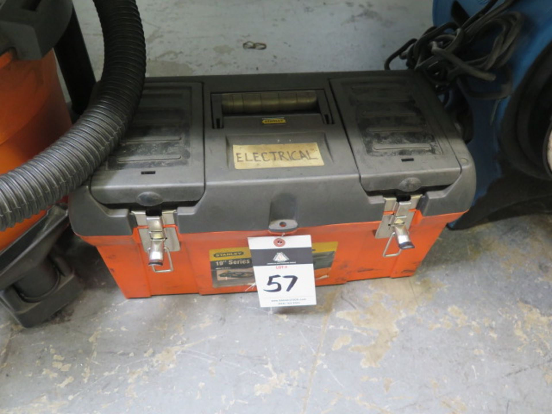 Lot 57 - Misc Electrical Supplies and Blower
