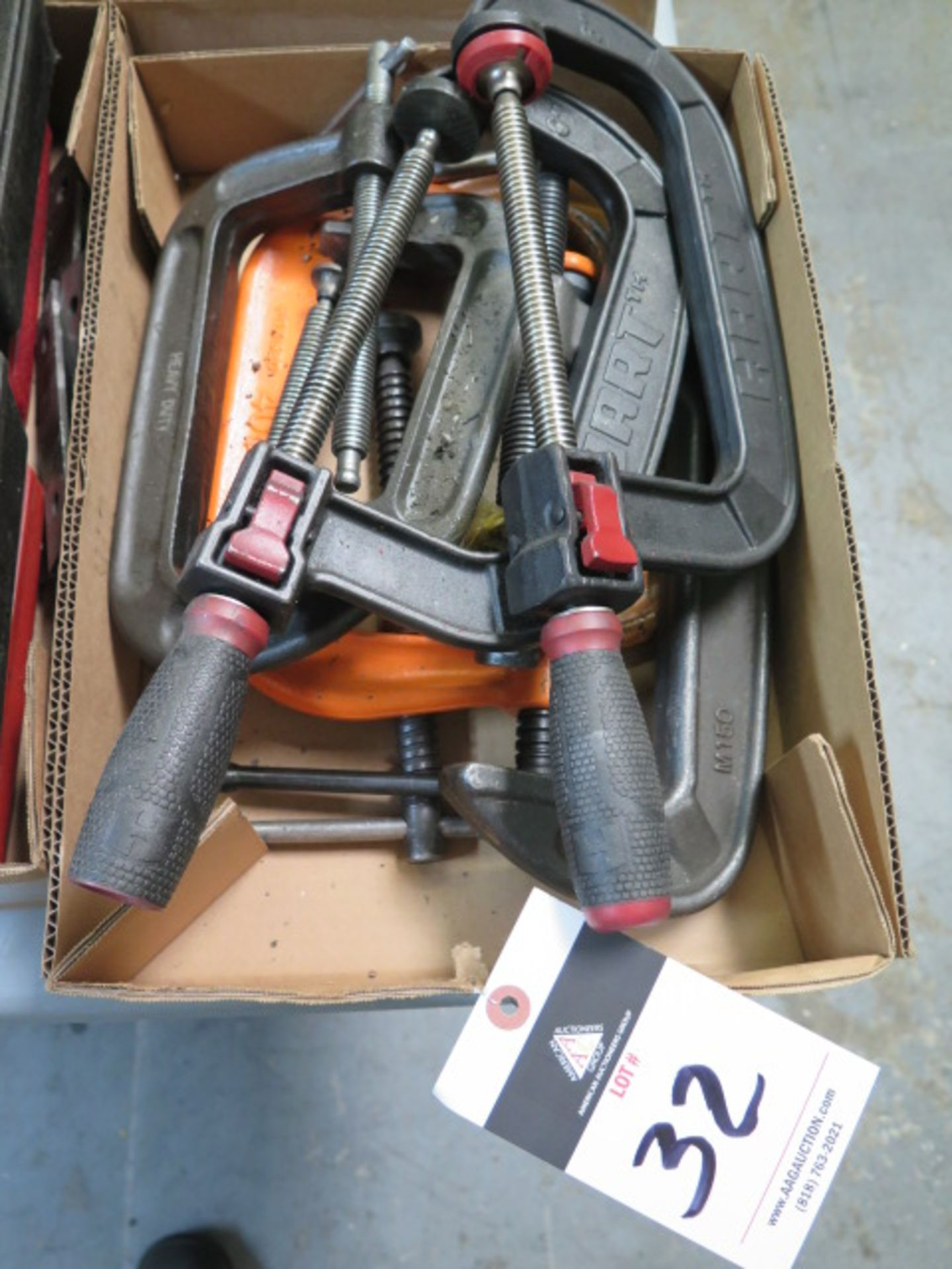 Lot 32 - C-Clamps