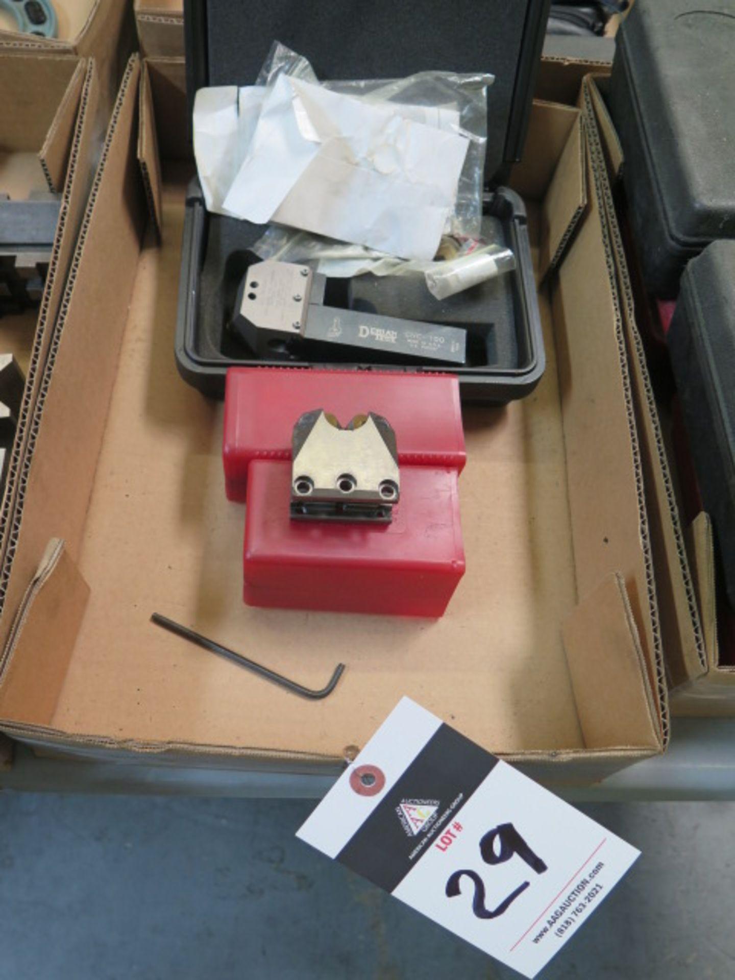 Lot 29 - Dorain CNC-100 Precision Knurling Tool w/ Secondary Head