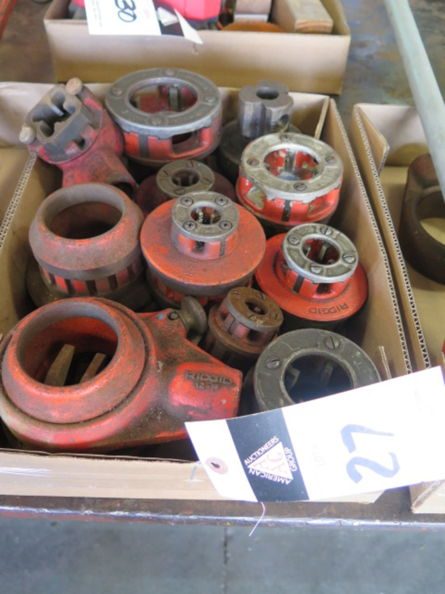 Lot 27 - Rigid Pipe Dies