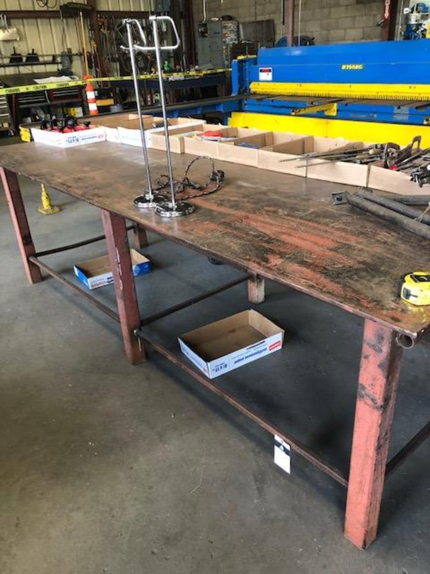 Lot 32A - Welding Table