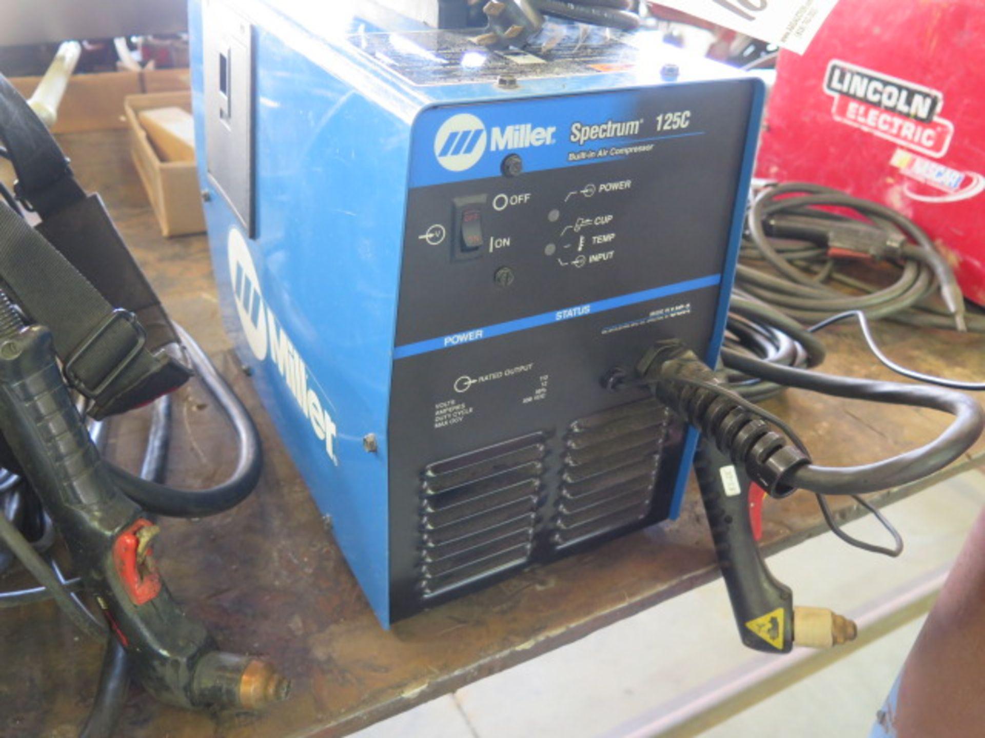 Lot 18 - Miller Spectrum 125C Plasma Cutting Power Source s/n LJ270052D w/ Built-In Compressor