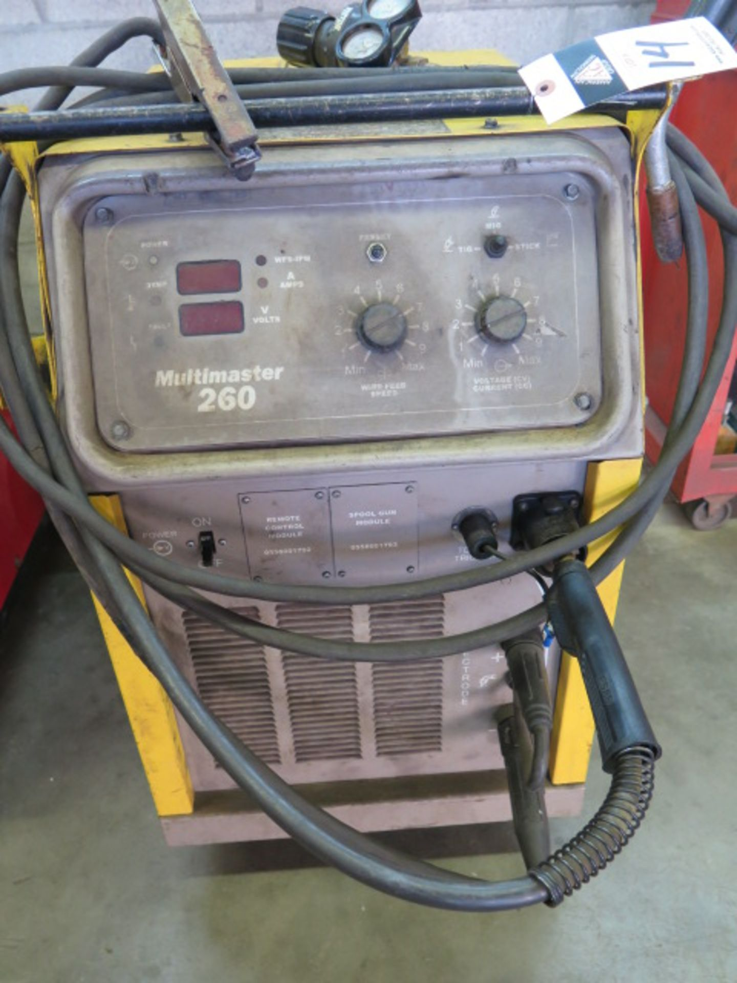 Lot 14 - Esab Miltimaster Arc Welding Power Source s/n M0RJ034031