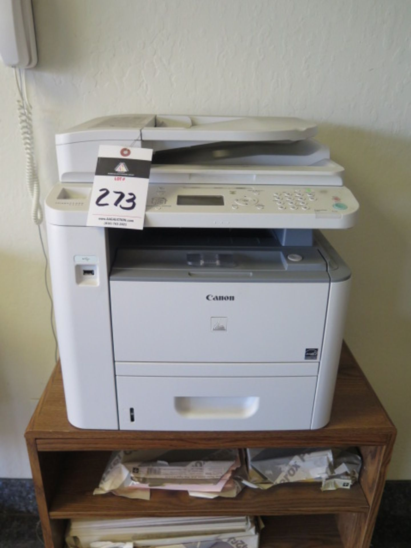 Lot 273 - Canon ImageCLASS D1320 Copier/Printer