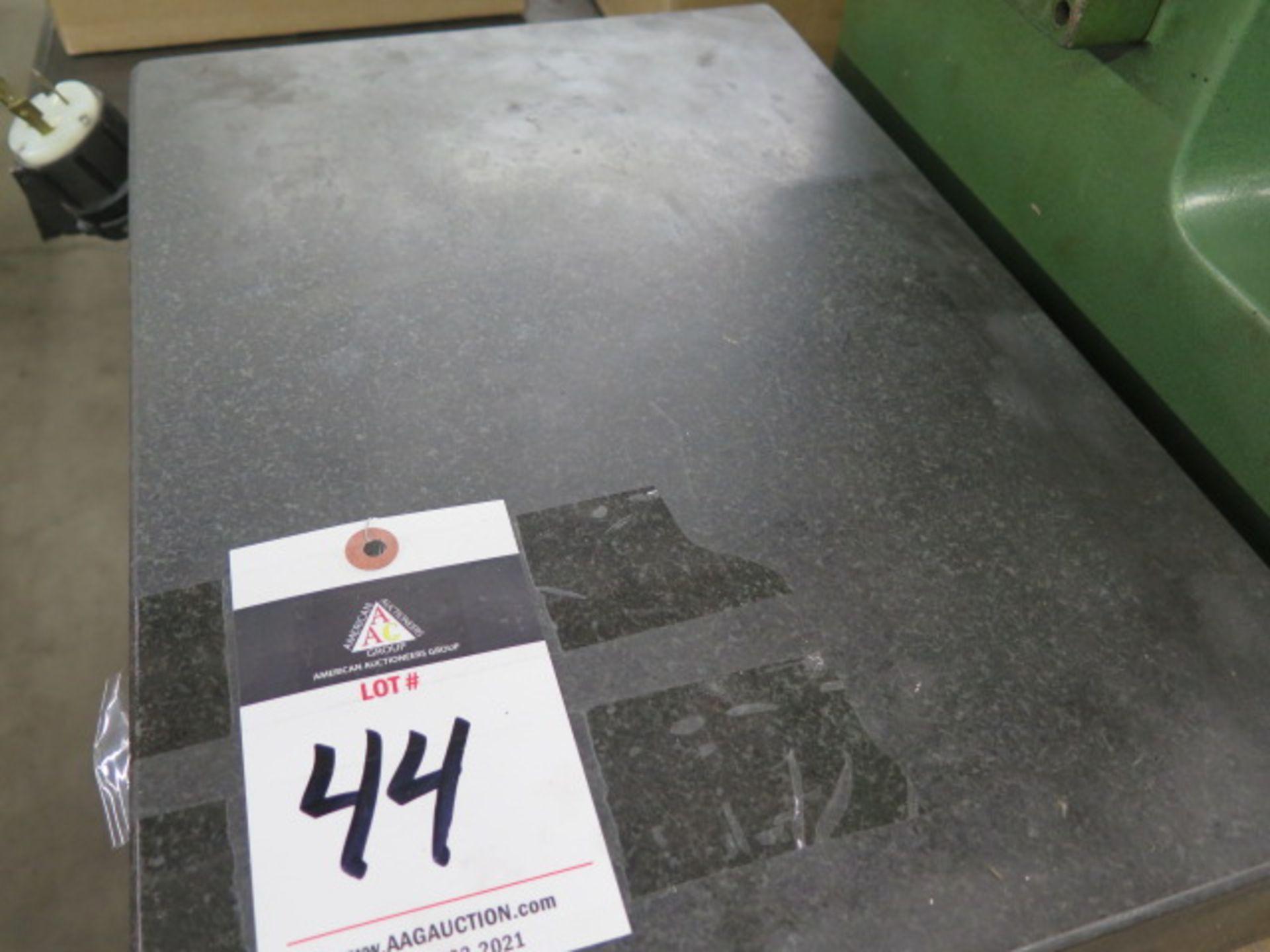 "Lot 44 - 12"" x 18"" x 3"" Granite Surface Plate"