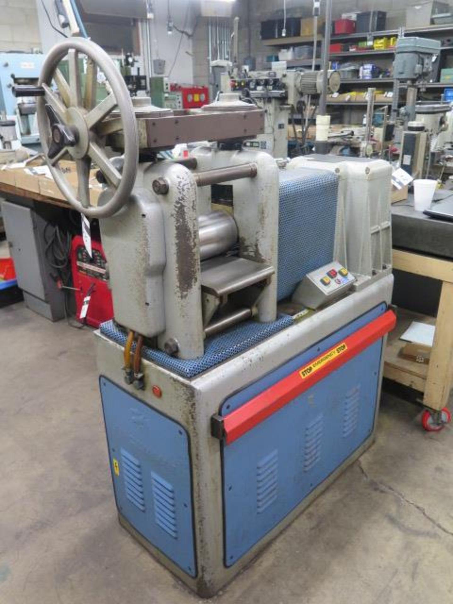 """F.LLi Cavallin mdl. MG20 8"""" Rolling Mill w/ Water Cooled Rolls - Image 2 of 9"""