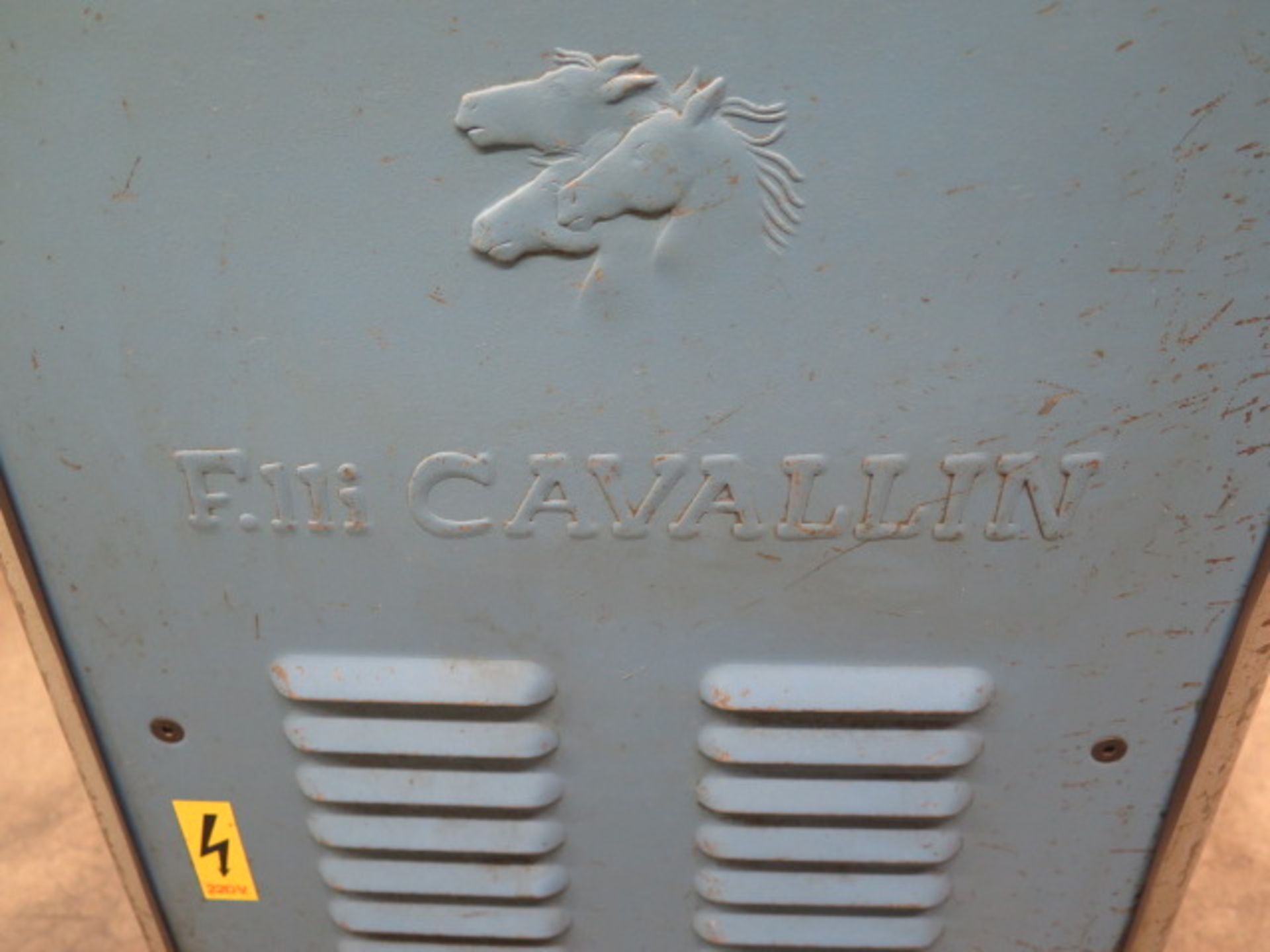 """F.LLi Cavallin mdl. MG20 8"""" Rolling Mill w/ Water Cooled Rolls - Image 4 of 9"""