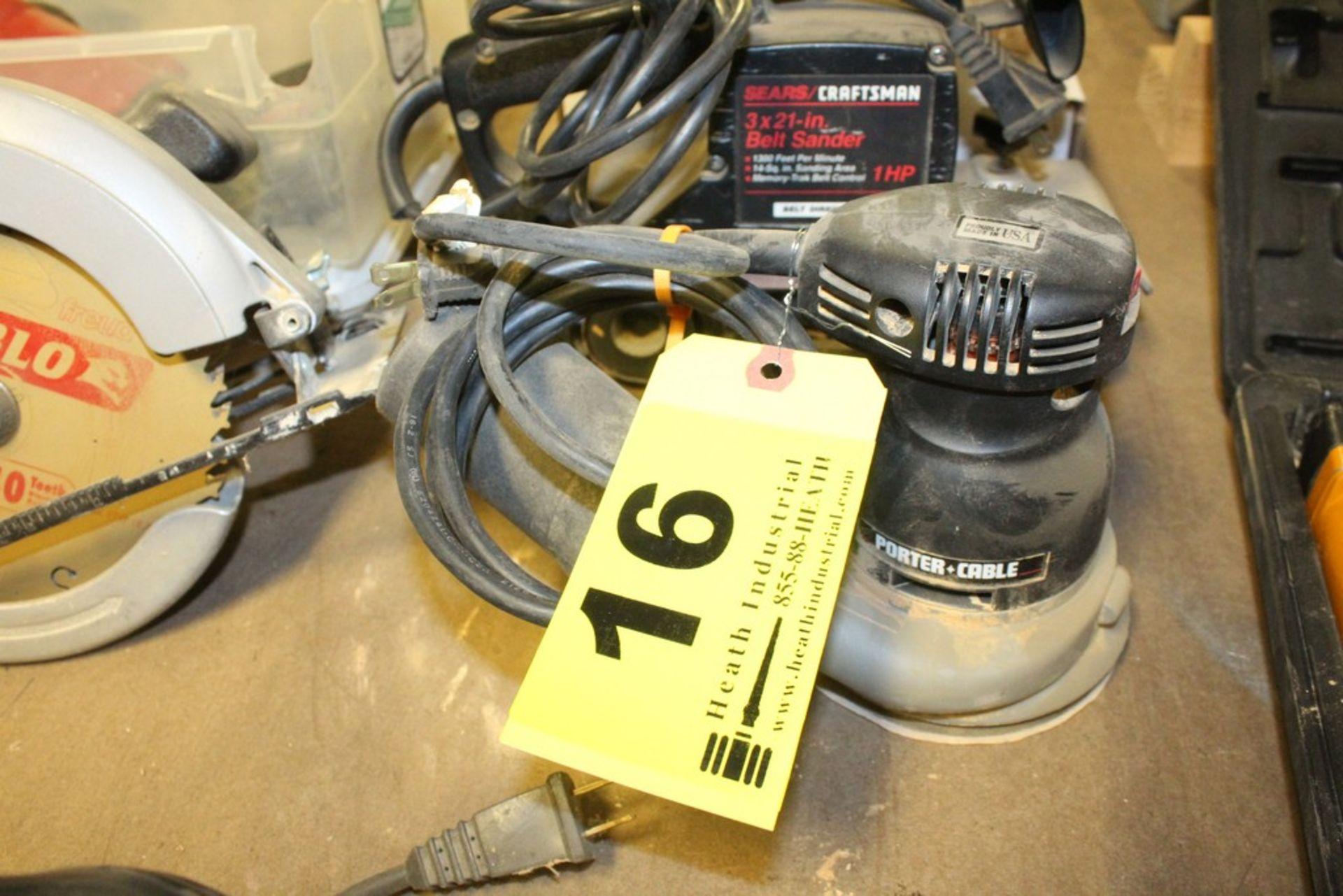 Lot 16 - PORTER-CABLE MODEL 333 RANDOM ORBITAL SANDER