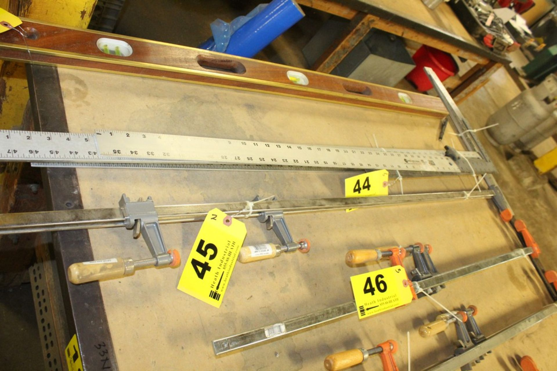 Lot 45 - (2) BAR CLAMPS, 48""