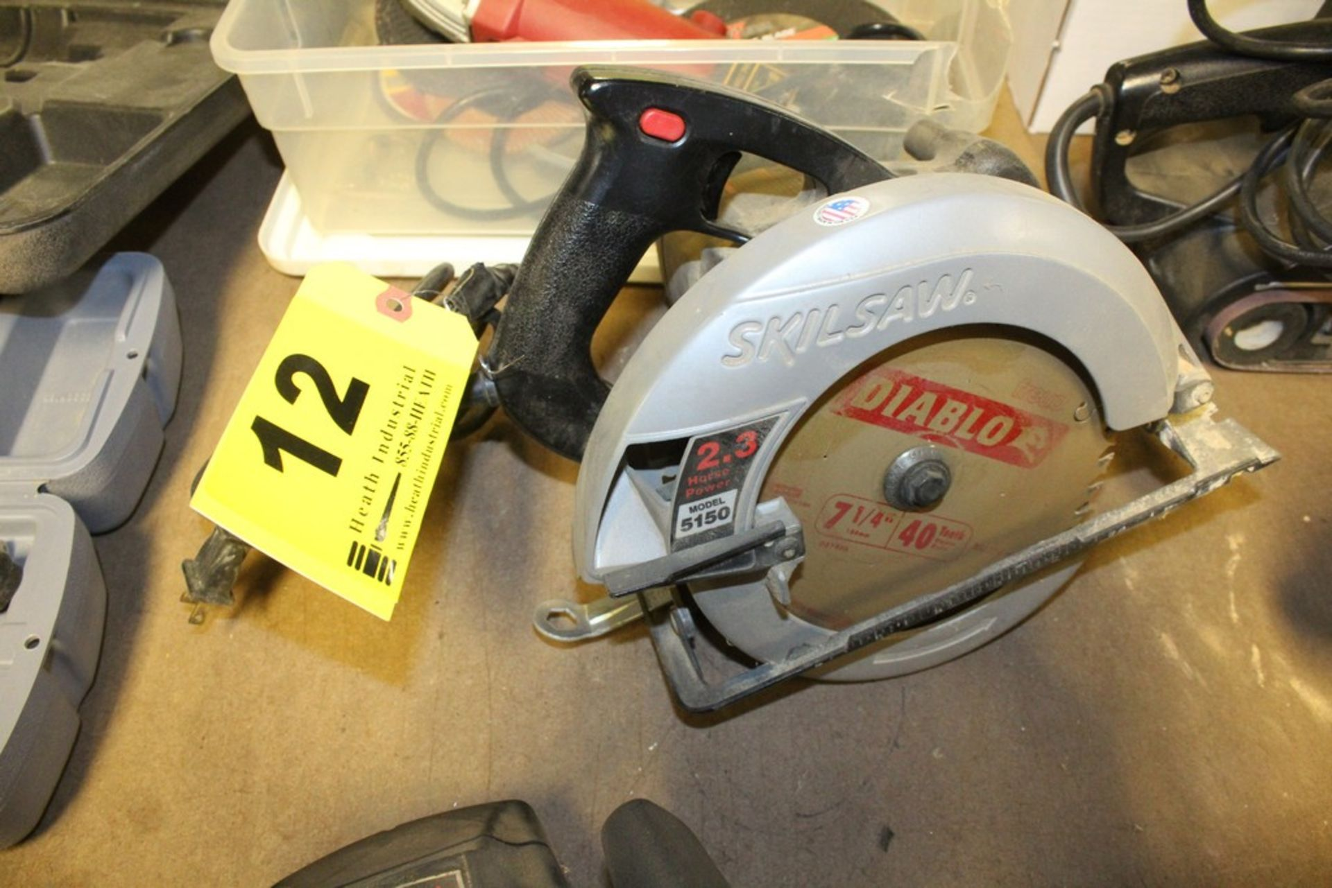 "Lot 12 - SKILSAW MODEL 5150 7-1/4"" CIRCULAR SAW"