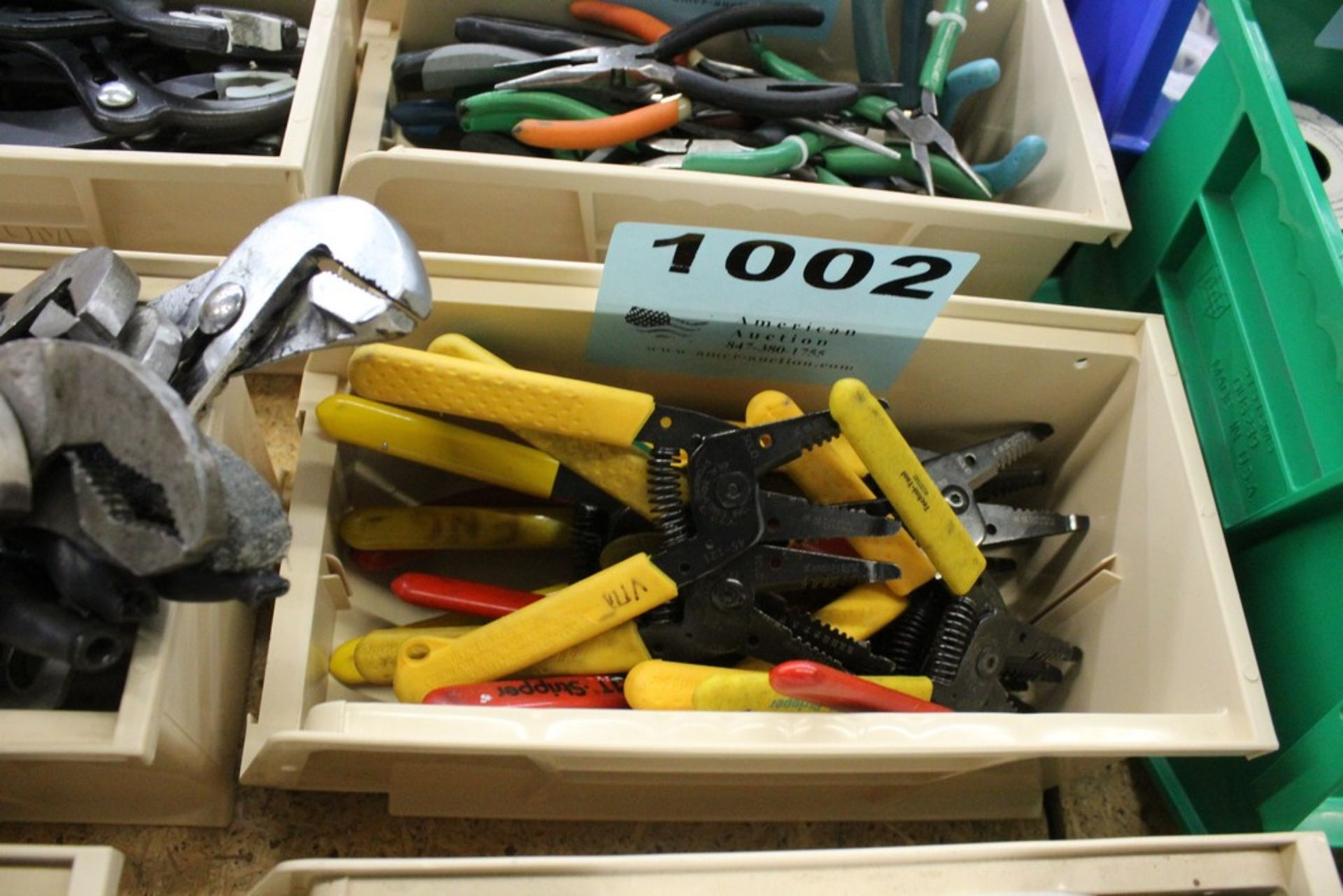 Lot 1002 - (15) ASSORTED WIRE CUTTERS AND STRIPPERS