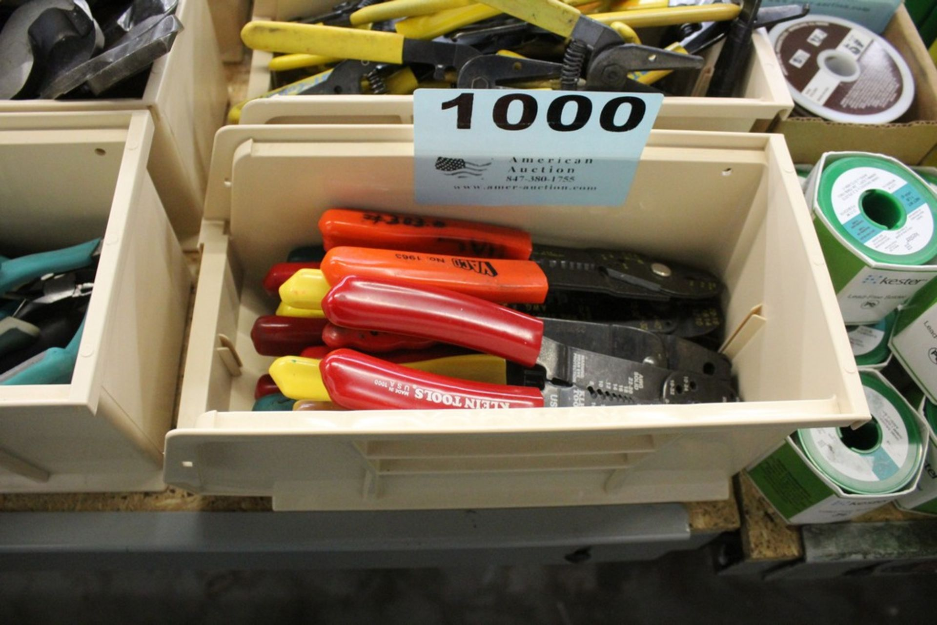 (11) WIRE CRIMPERS AND STRIPPERS