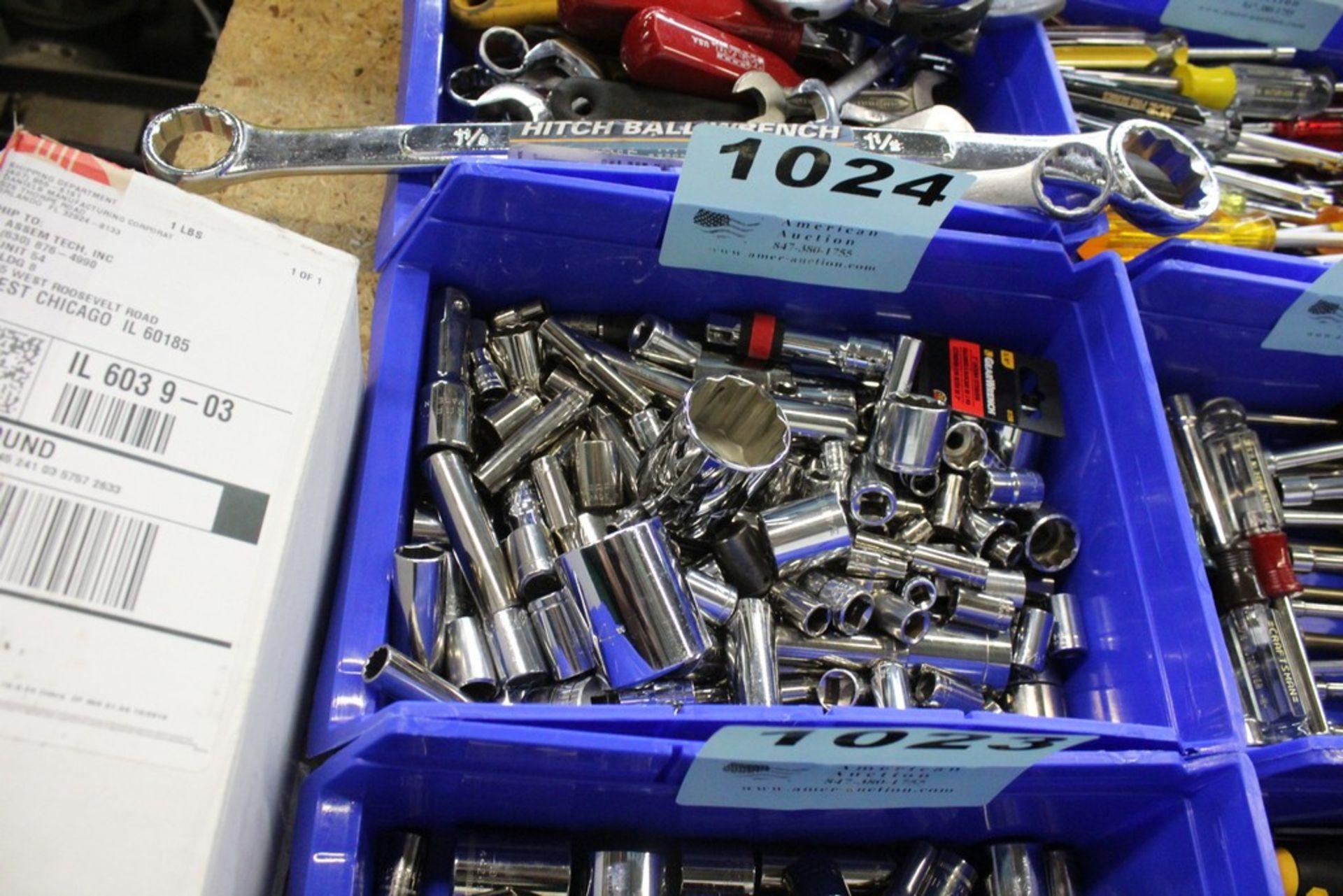 Lot 1024 - ASSORTED STANDARD SOCKETS