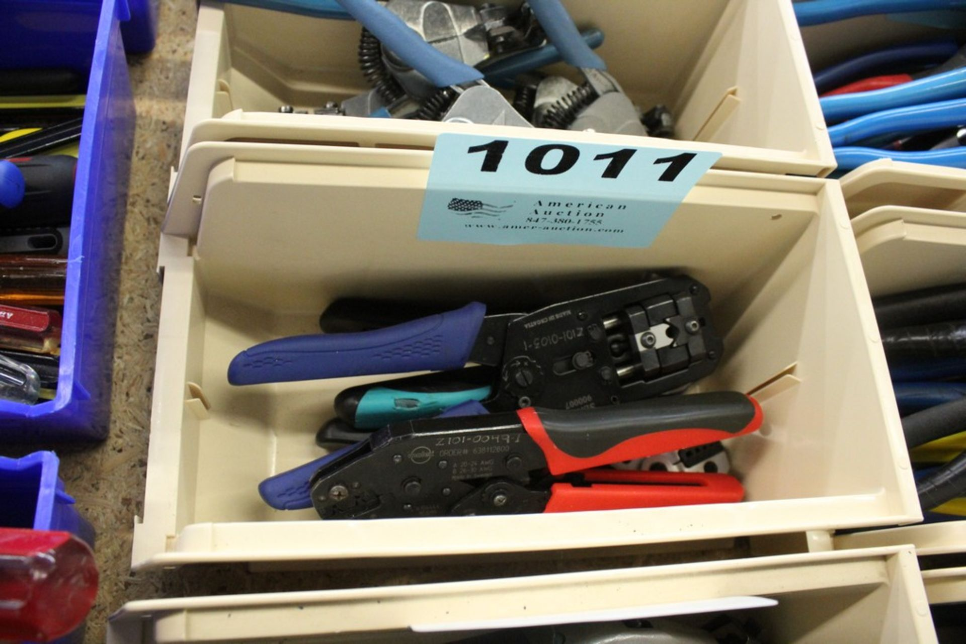 Lot 1011 - (4) ASSORTED CRIMPERS