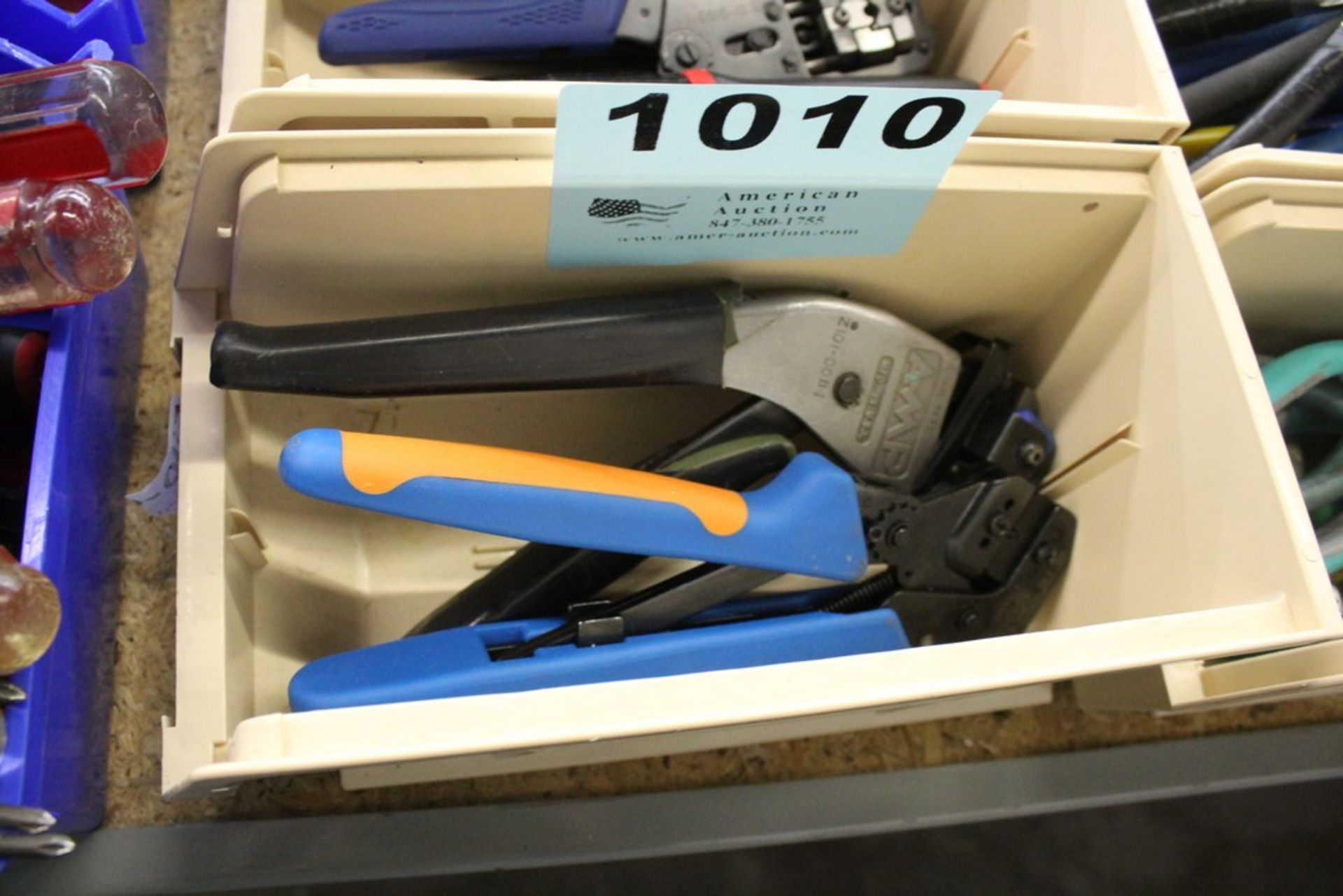 Lot 1010 - (2) ASSORTED CRIMPERS