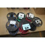 (6) ROLLS OF ELECTRICAL WIRE 10 AND 12 AWG