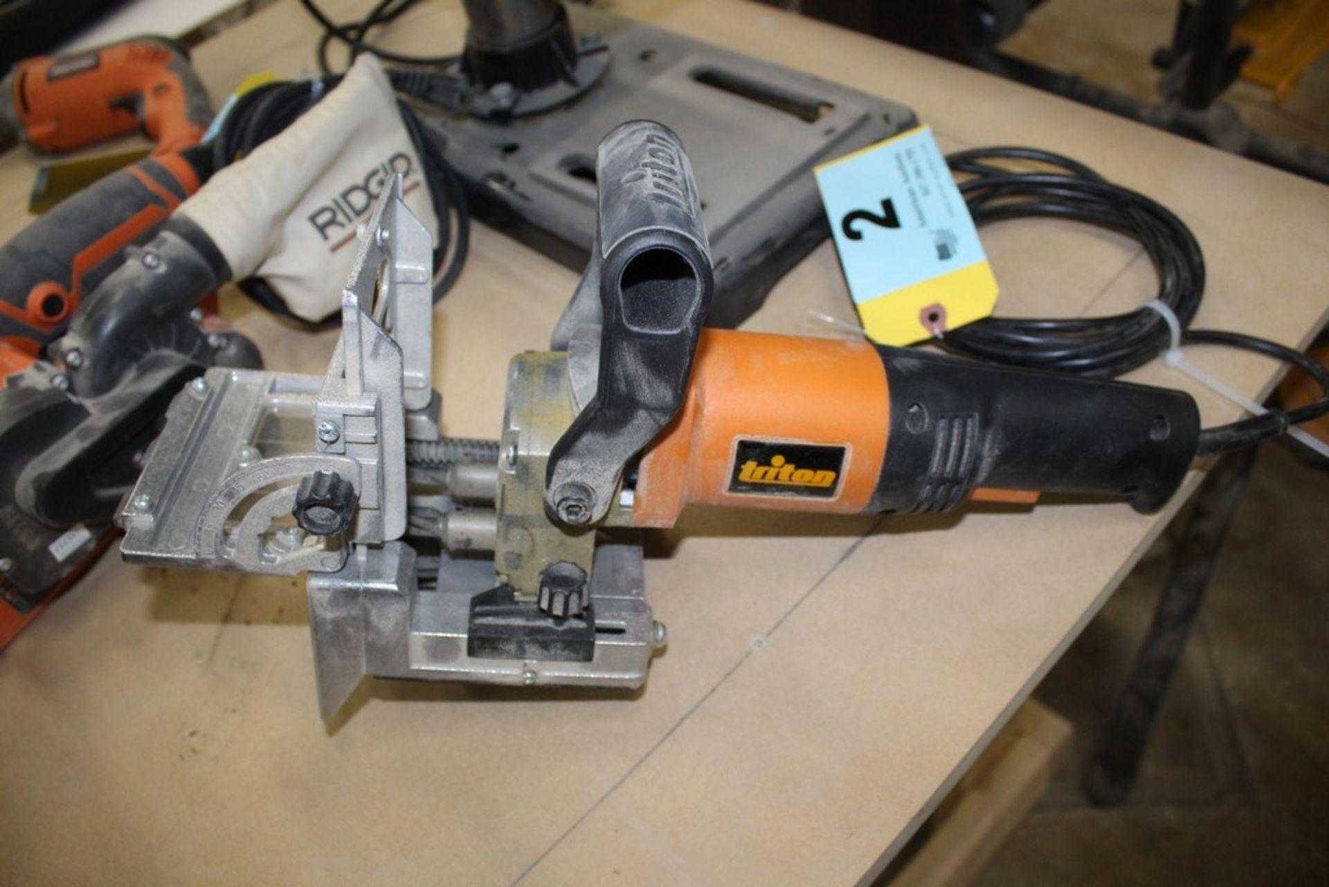Lot 2 - TRITON MODEL TDJ600 DOWELLING JOINTER
