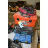 ASSORTED TOOL BOXES AND CASES