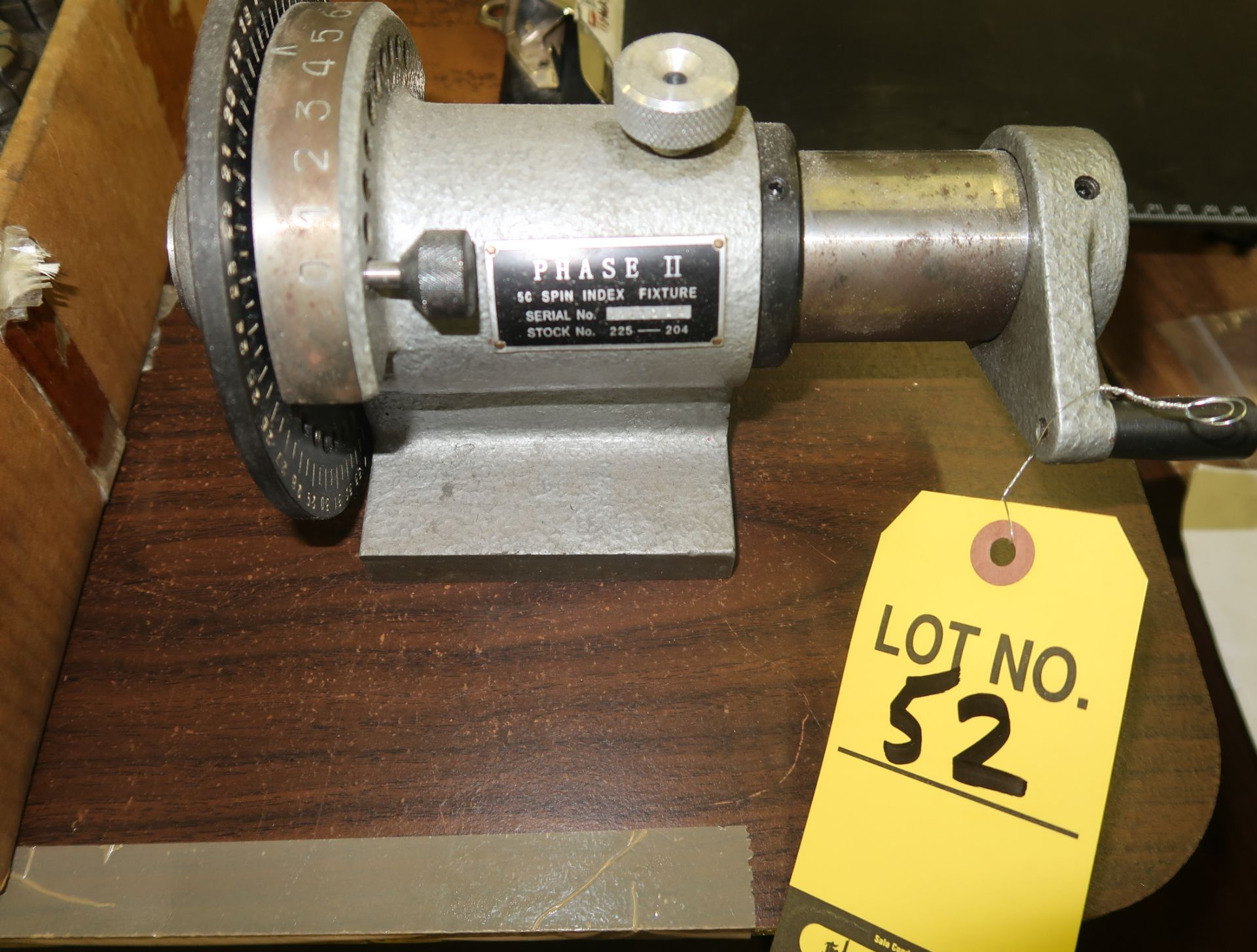 Lot 52 - PHASE II 5C SPIN INDEX FIXTURE